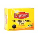 Gul te Yellow label 50pk Lipton