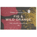 Sjokolade Raw Cacao Fig & Wild Orange 45g Pana Chocolate