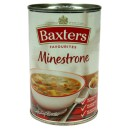 Minestronesuppe bx 400g Baxters