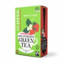 Green tea Strawberry økologisk 20pk 40g Clipper