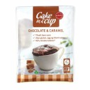 Chocolate & Caramel m/sukrin 65g Cake in a Cup