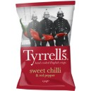 Sweet chilli & red pepper chips 150g Tyrells
