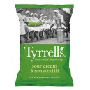 Sour cream & serenade chilli chips 150g Tyrells