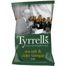 Sea salt & cider vinegar chips 150g Tyrells